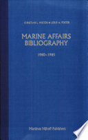 Marine Affairs Bibliography
