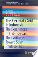 The Electricity Grid in Indonesia