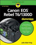 Canon EOS Rebel T6/1300D For Dummies Pdf/ePub eBook