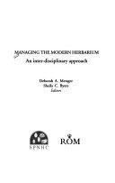 Managing the Modern Herbarium