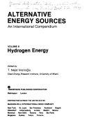 Alternative energy sources   an international compendium  8  Hydrogen energy