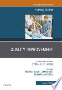 Quality Improvement An Issue Of Nursing Clinics Ebook