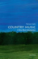 Country Music  a Very Short Introduction