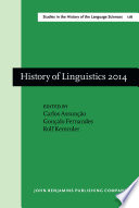 History of Linguistics 2014 Book