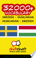 Read Online 32000+ Swedish - Hungarian Hungarian - Swedish Vocabulary For Free