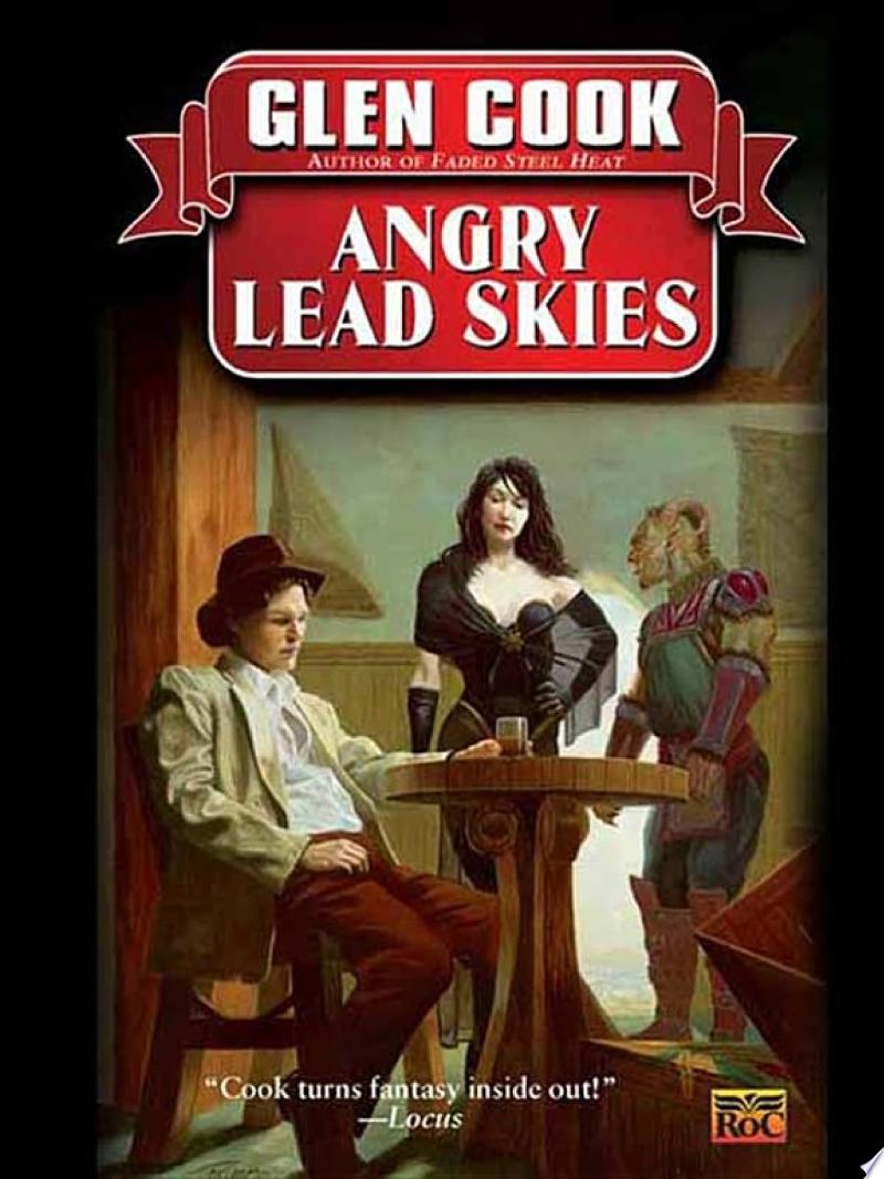 Angry Lead Skies banner backdrop