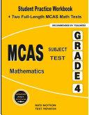 PSSA Subject Test Mathematics Grade 4  Student Practice Workbook   Two Full Length PSSA Math Tests