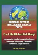 National Defense Intelligence College Paper