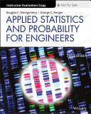 Applied Statistics and Probability for Engineers  7th Edition Evaluation Copy