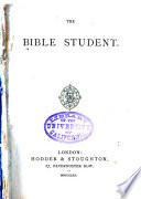 The Bible Student Book