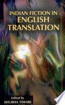 Indian Fiction in English Translation