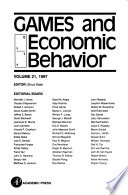 Games and Economic Behavior