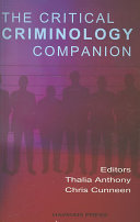 The Critical Criminology Companion