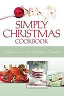 Simply Christmas Cookbook
