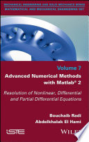 Advanced Numerical Methods with Matlab 2