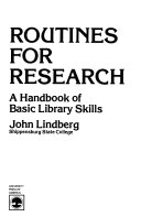 Routines For Research