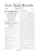 The Coal Trade Bulletin