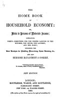 The Home Book of Household Economy     New Edition