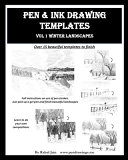 Pen and Ink Drawing Templates Book PDF