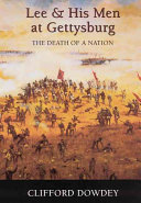 Lee and His Men at Gettysburg