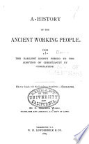 A History of the Ancient Working People