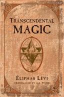 Pdf Transcendental Magic