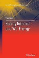 Energy Internet and We Energy Book