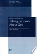Talking Seriously About God