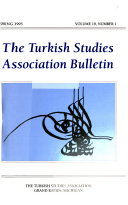 Turkish Studies Association Bulletin