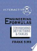 Engineering Formulas Interactive
