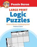 Puzzle Baron Large Print Logic Puzzles