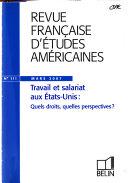 Revue Française D'études Américaines