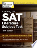 Cracking The Sat Literature Subject Test 15th Edition
