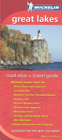 Michelin Great Lakes Road Atlas   Travel Guide