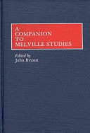 A Companion To Melville Studies Book PDF