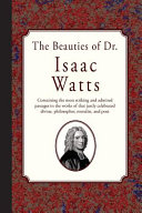 Isaac Watts Books, Isaac Watts poetry book