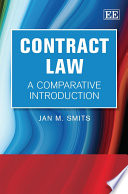 Contract Law  : A Comparative Introduction