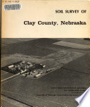 Soil Survey of Clay County  Nebraska