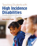"""Teaching Students With High-Incidence Disabilities: Strategies for Diverse Classrooms"" by Mary Anne Prater"