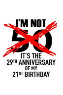 I'm Not 50. It's the 29th Anniversary of My 21st Birthday.