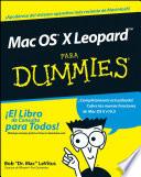Mac OS X Leopard Para Dummies