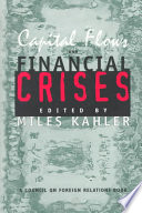 Capital Flows And Financial Crises