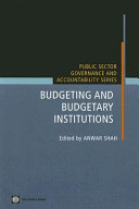 Budgeting and Budgetary Institutions
