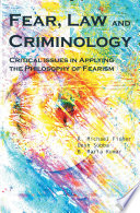 Fear Law And Criminology