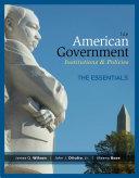 American Government Essentials Edition