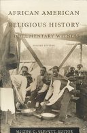 Pdf African American Religious History