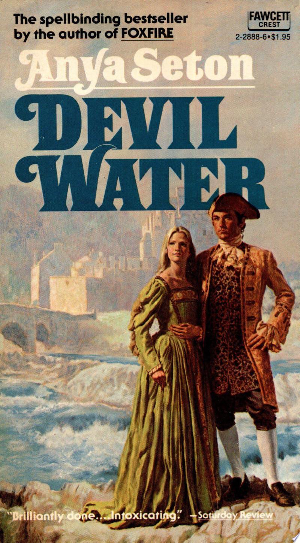Devil Water banner backdrop
