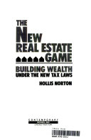 The New Real Estate Game