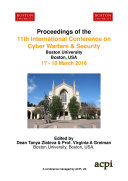 11th International Conference on Cyber Warfare and Security Pdf/ePub eBook