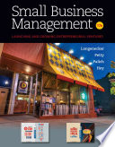 """Small Business Management"" by Justin G. Longenecker, J. William Petty, Leslie E. Palich, Frank Hoy"